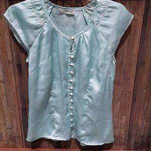 Pretty silky shirt by Romy
